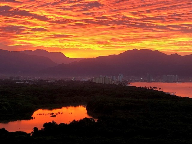 Sunrise in Puerto Vallarta