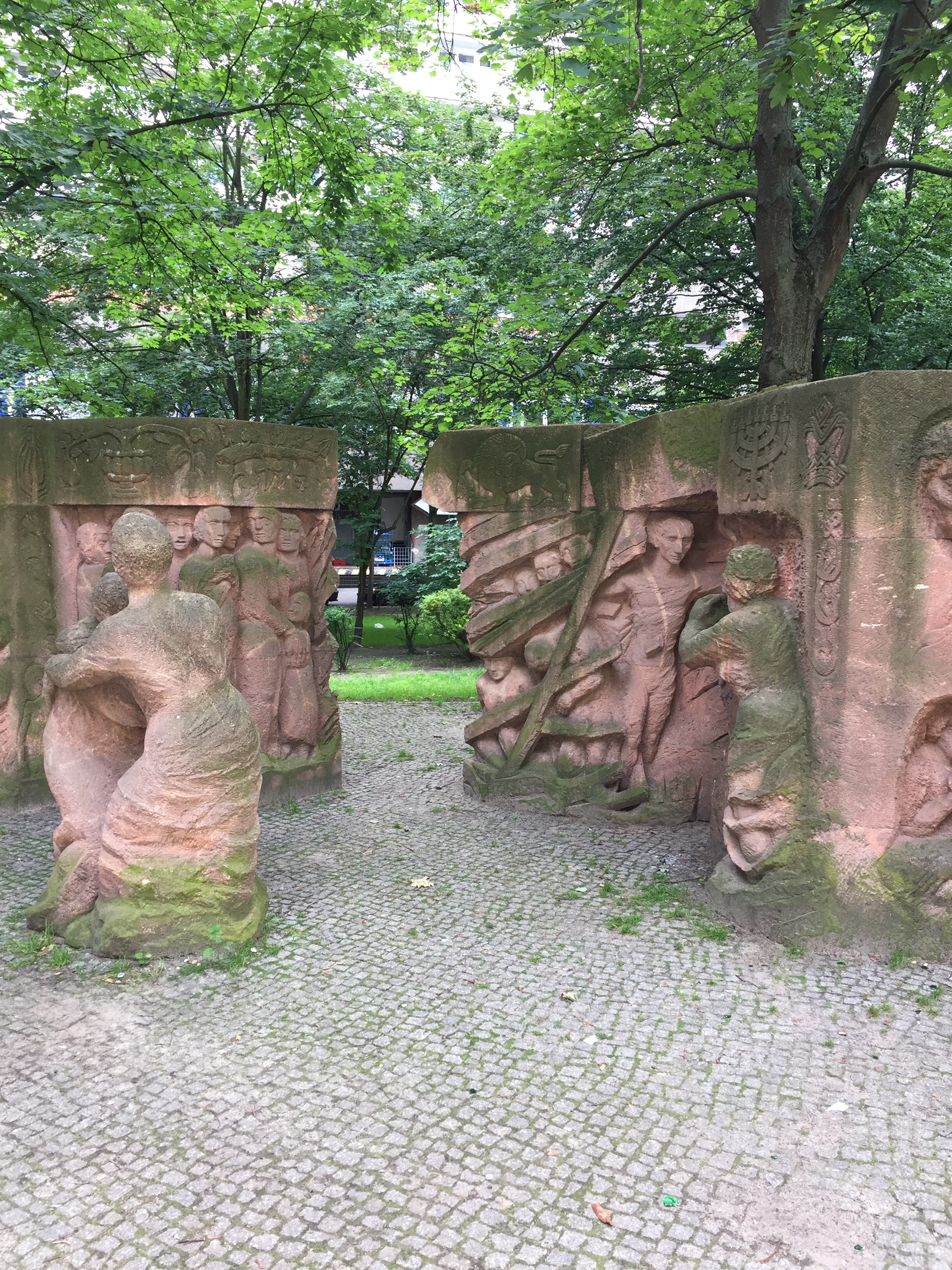 The Block of Women Memorial, Jewish Quarter, Berlin